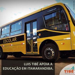 Luis Tibé reafirma seu compromisso com a educação em Minas